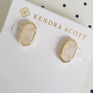 Kendra Scott Iridescent Druzy Ellie Earrings